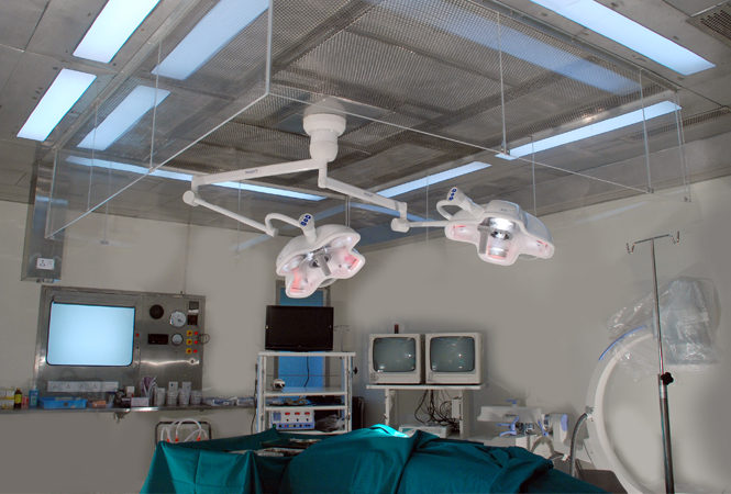 Ultra Clean True Laminar Airlow Operation Theatre - Only one in India